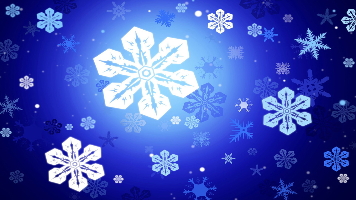 Wallpapers   Download Beautiful Winter Snowflakes HD Wallpapers 1136x640