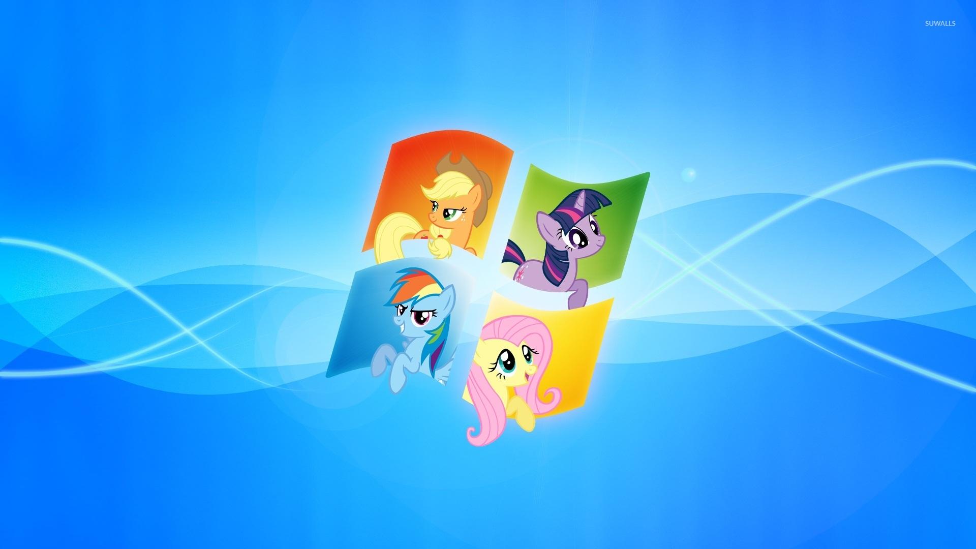 My Little Pony inside Windows wallpaper   Computer wallpapers   42636 1920x1080