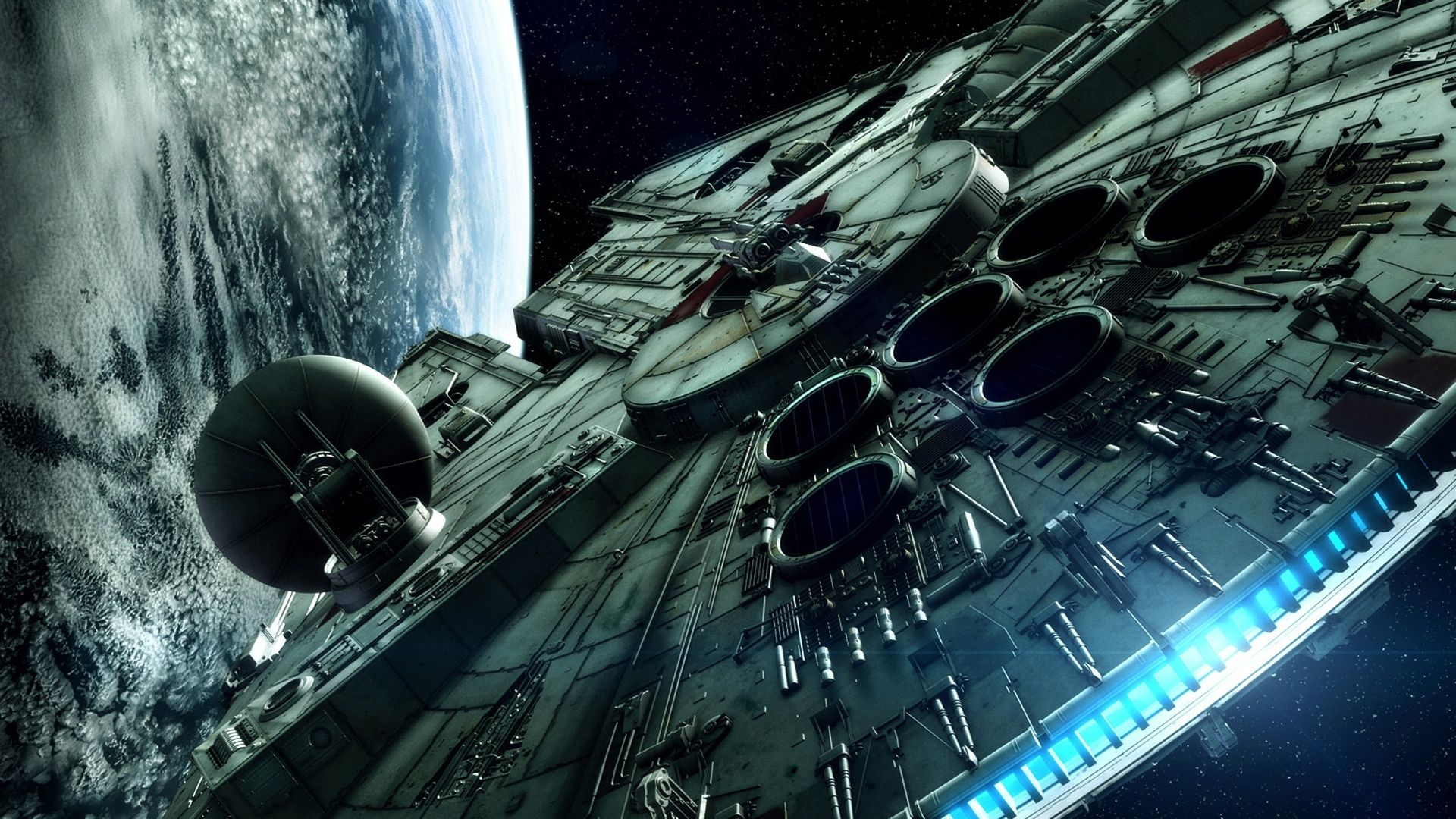 39 Star Wars Space Station Background On Wallpapersafari