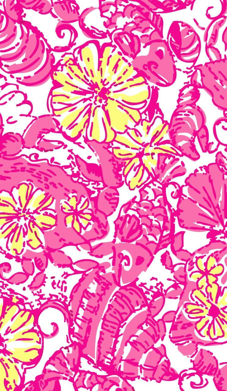 Free Download Lily Pulitzer Iphone Wallpapers Pinterest 744x1280