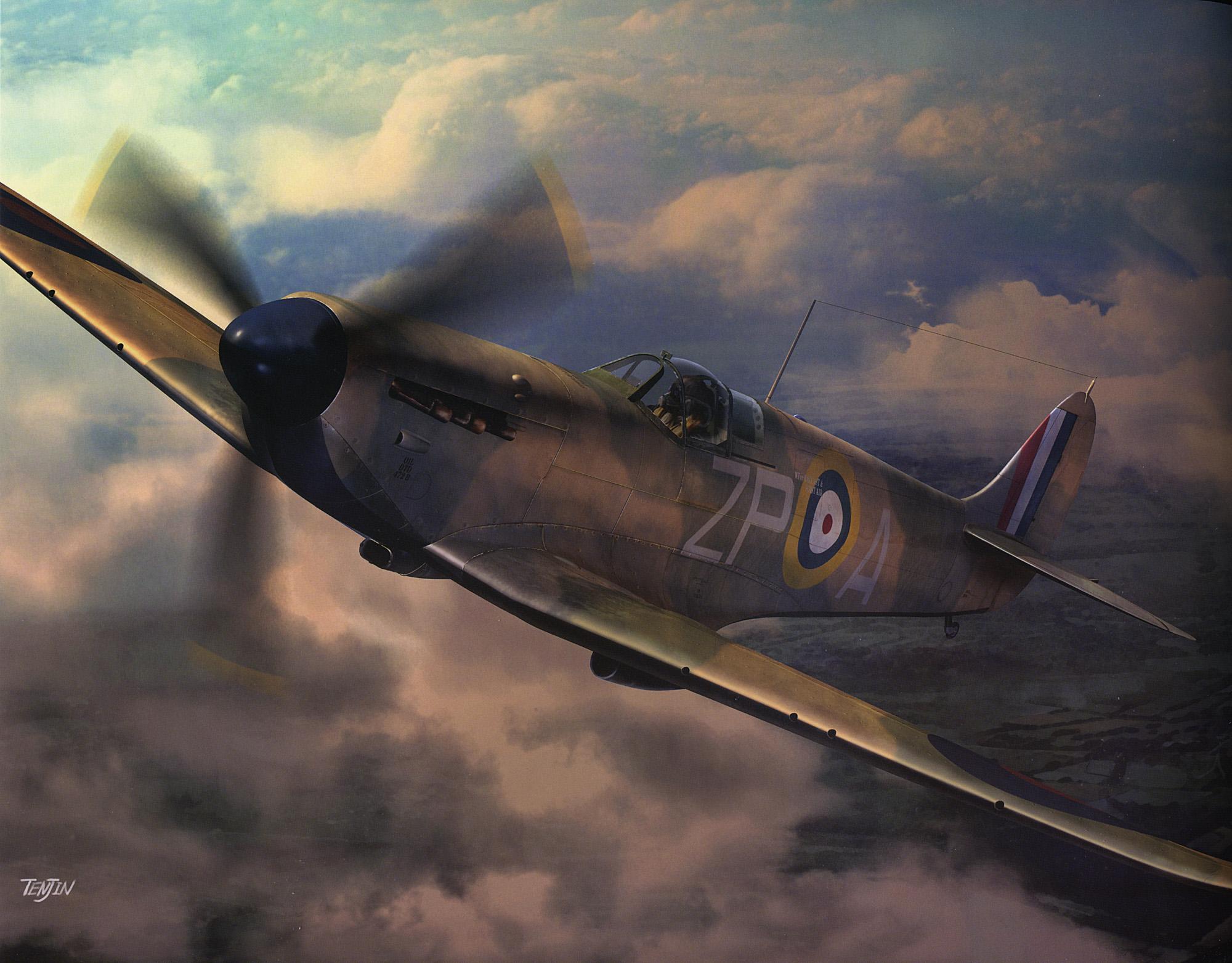 Supermarine Spitfire Wallpaper 2000x1563 Supermarine Spitfire Does 2000x1563