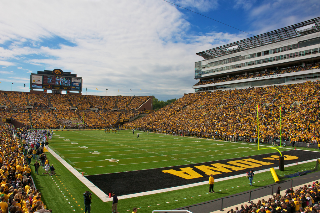 Iowa Football Stadium Wallpaper 1024x680