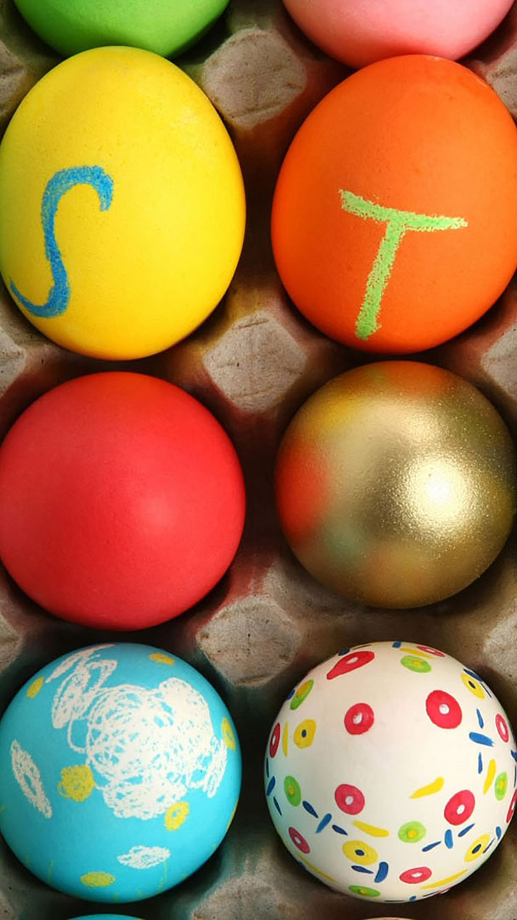 20 Easter iPhone Wallpapers 750x1334