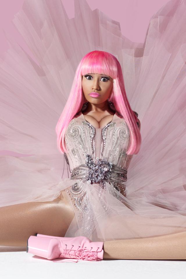 Beauty By Jessy Nicki Minaj iPhone wallpaper 640x960