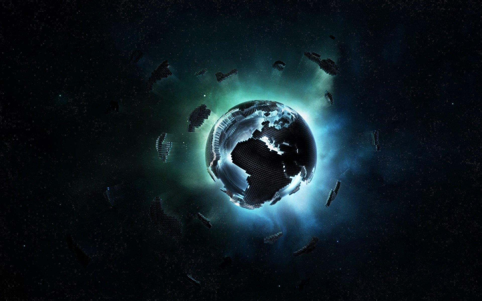Another awesome set of 22 Black themed abstract wallpapers hand picked 1920x1200