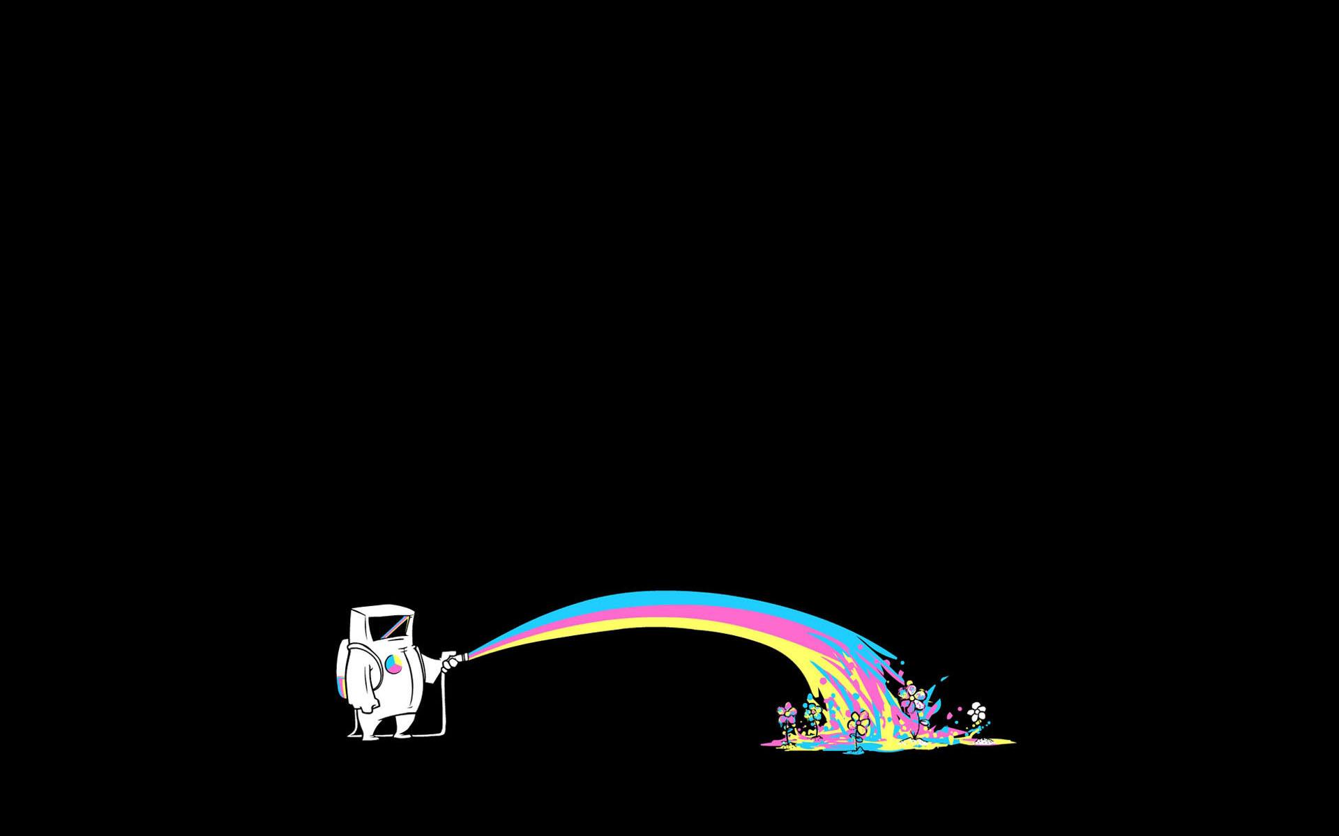 minimalistic rainbows rainbow minimalist HD Wallpaper of Nature 1920x1200