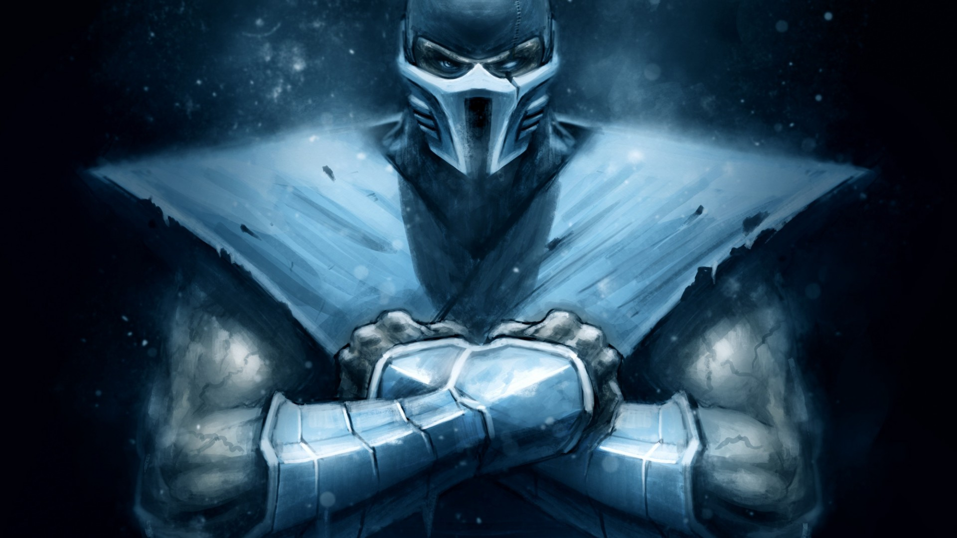 Free Download Full Hd Wallpaper Sub Zero Front View Art Mortal