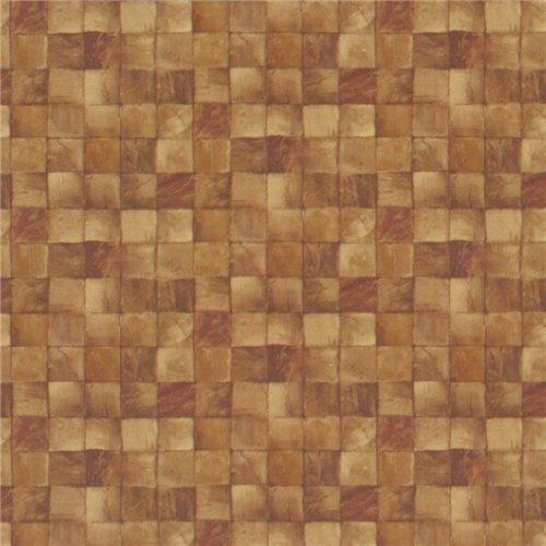 Tile look wallpaper for backsplash we grouted last night - Wallpaper that looks like tile for kitchen backsplash ...