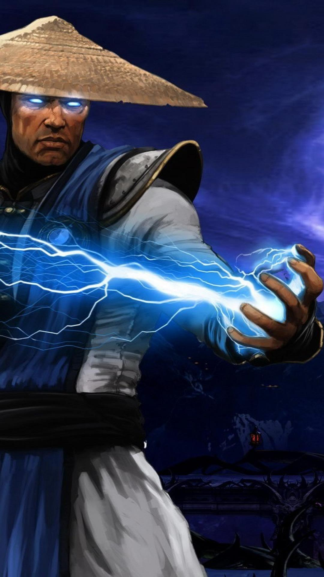 raiden mortal kombat x wallpaper wallpapersafari