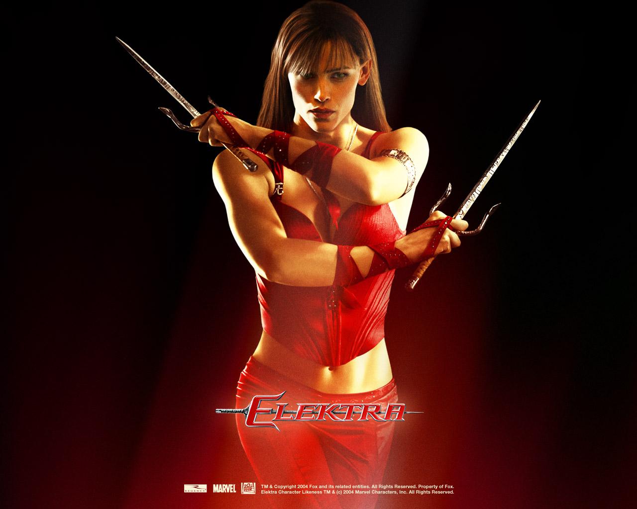 Just Walls Elektra Movie Character Wallpaper 1280x1024