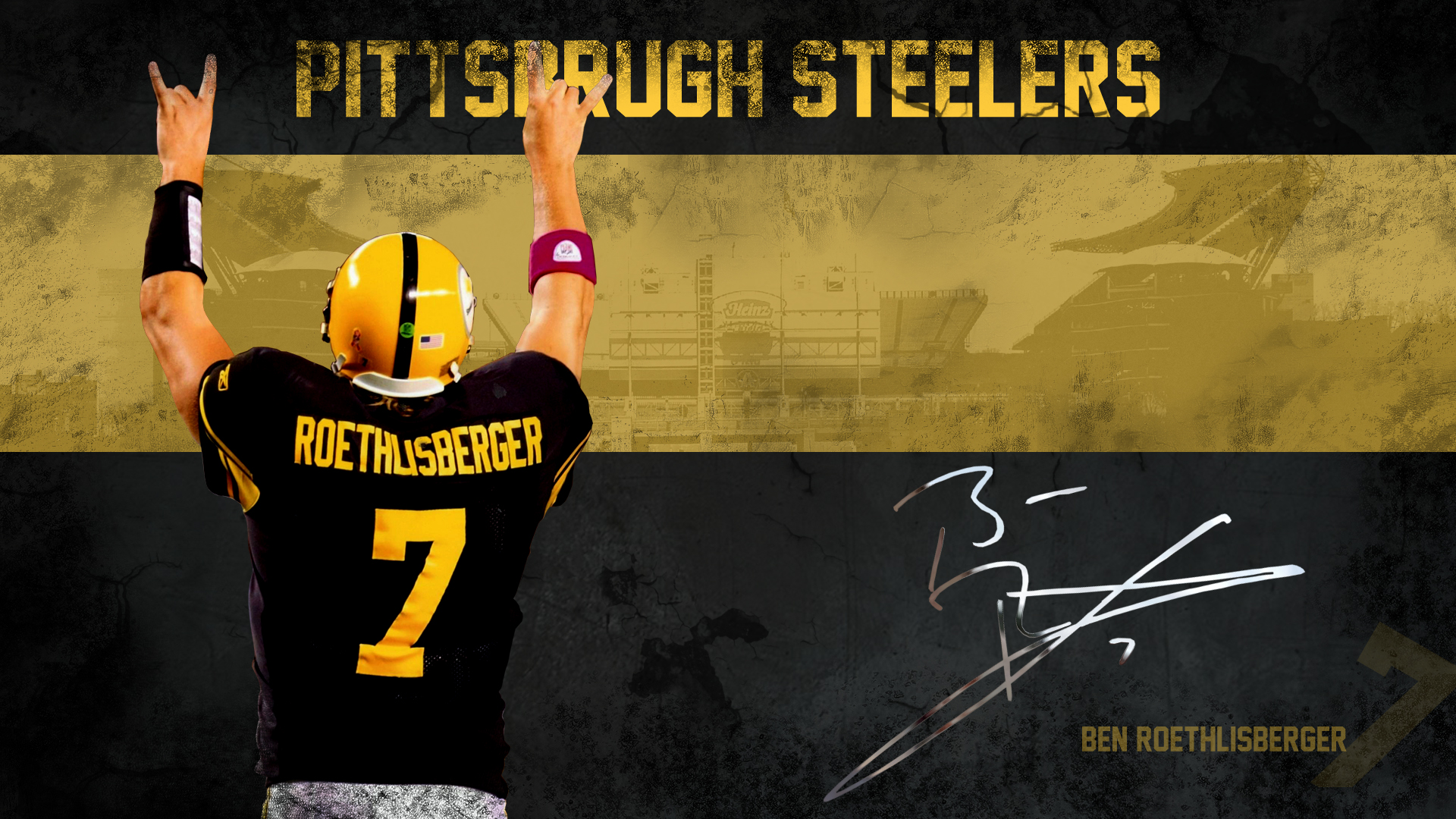 Pittsburgh Steelers HD desktop wallpaper 1920x1080