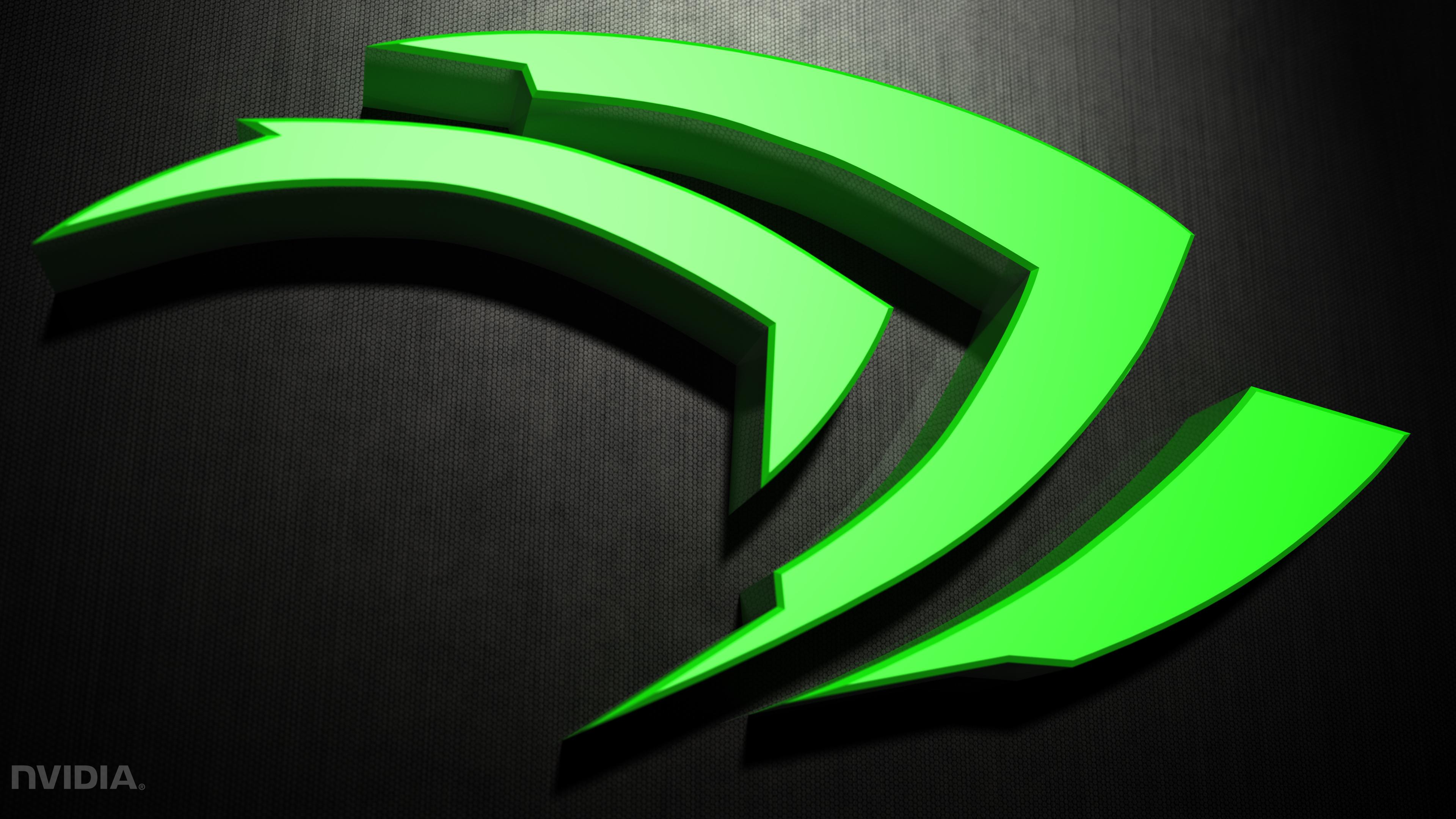 Nvidia simple 3D Computer Wallpapers Desktop Backgrounds 3840x2160 3840x2160