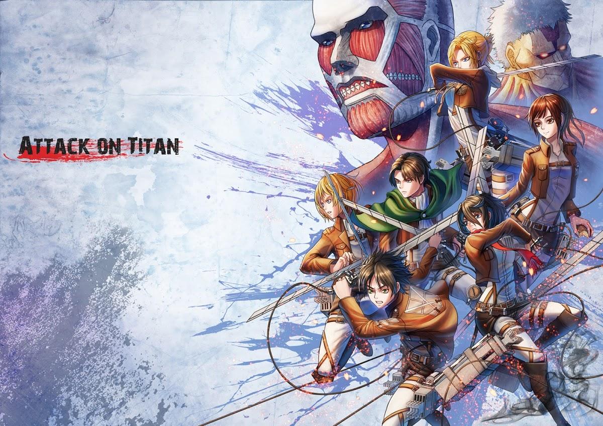 Download Attack on Titan HD Widescreen Creative Graphics Wallpaper 1200x848