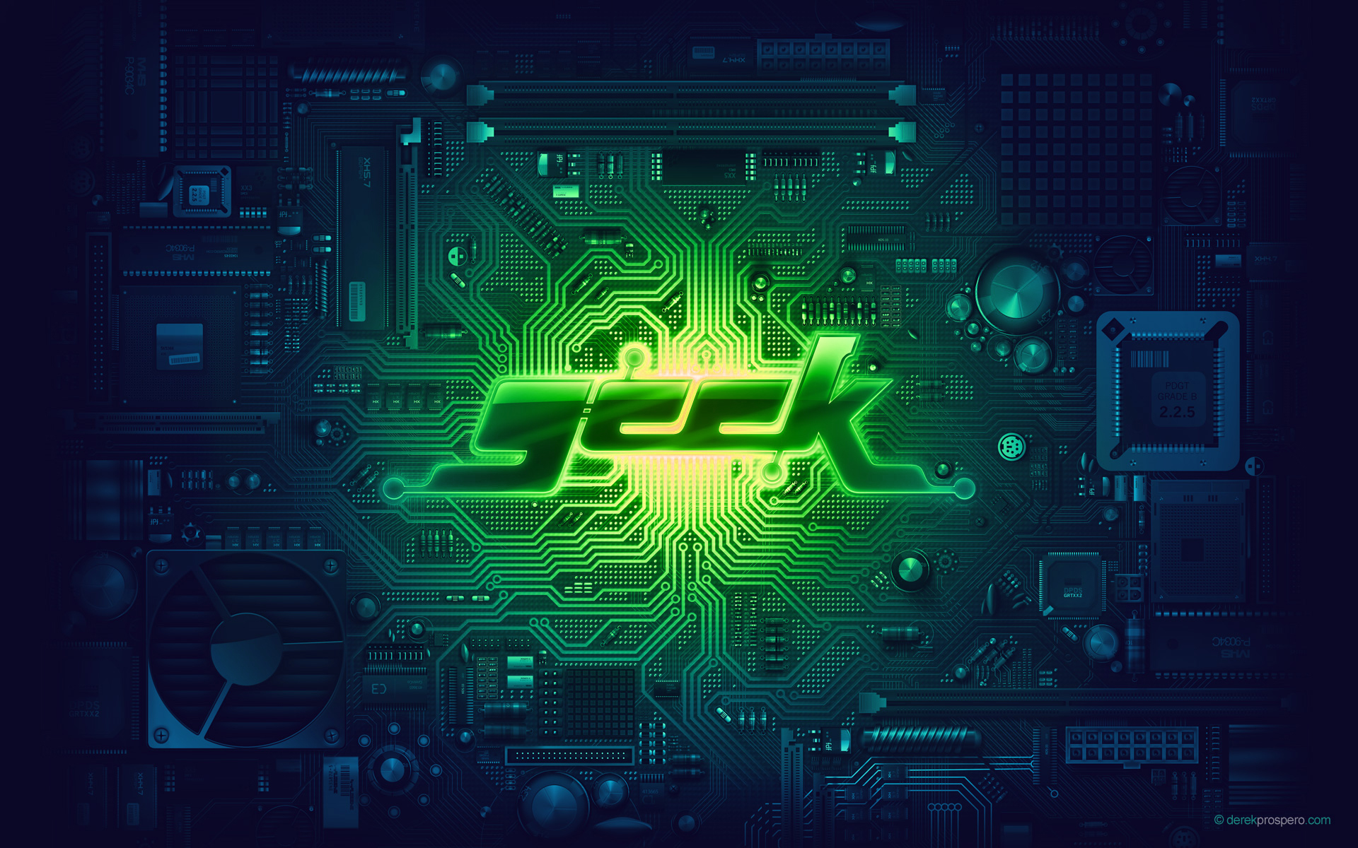 geek motherboard HD Wallpaper   General 351240 1920x1200