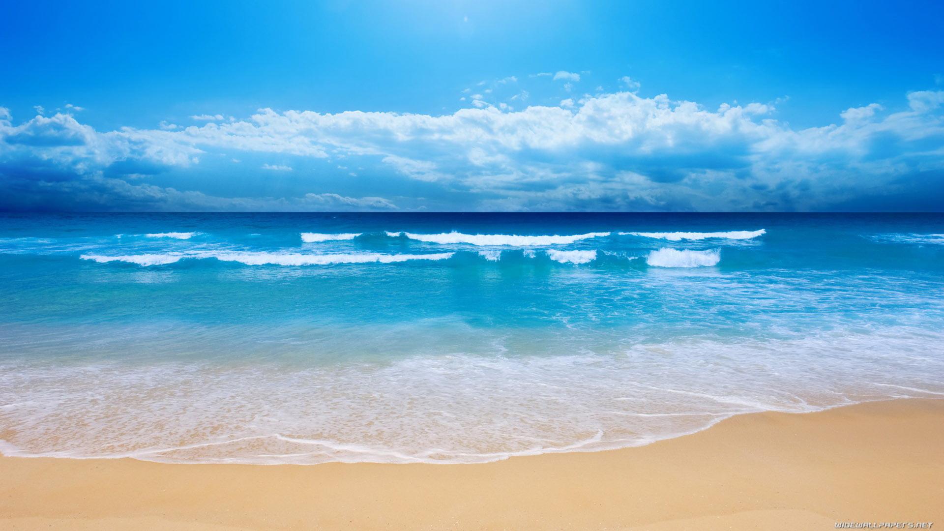 Natural Beautiful Beach HD Wallpaper Hd Wallpapers 1920x1080
