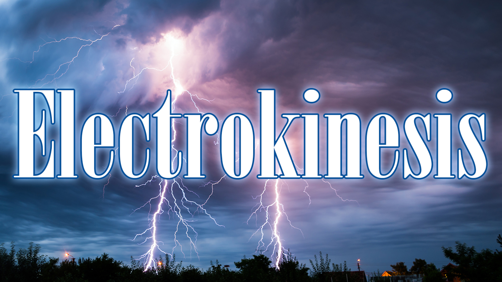 Electrokinesis   The Beginning of a Weapon of ZeusThorLei Gong 1920x1080