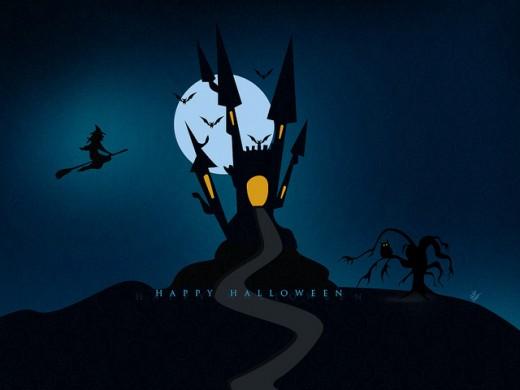 30 HD Halloween Wallpapers for Desktop GraphicsBeam 520x390