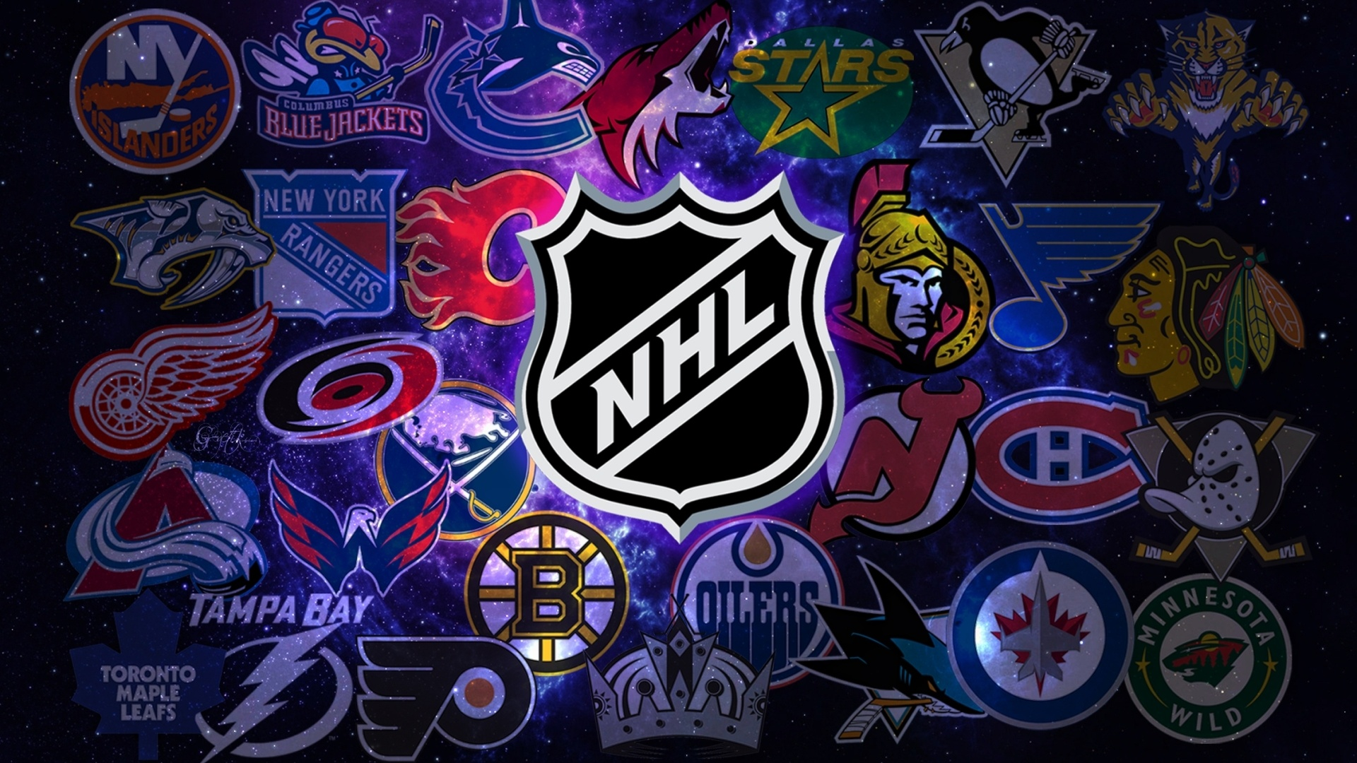 Nhl Teams Background Images Pictures   Becuo 1920x1080