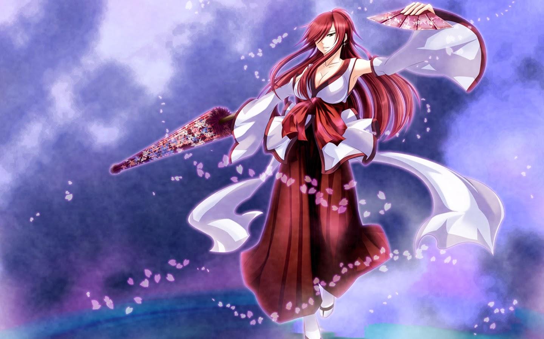 erza scarlet fairy tail anime girl hd wallpaper 1440x900 7h 1440x900