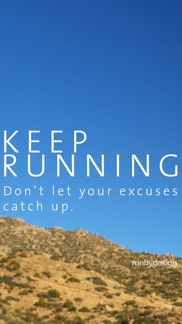 Keep Running iPhone5 Wallpaper2jpg 640x1136