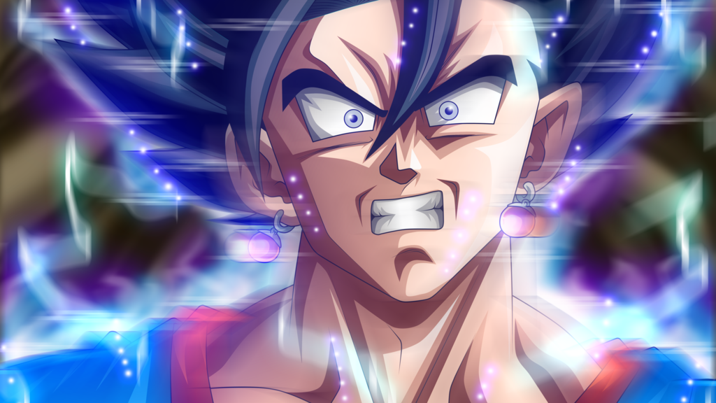 Vegito Ultra Instinct by rmehedi 1024x576