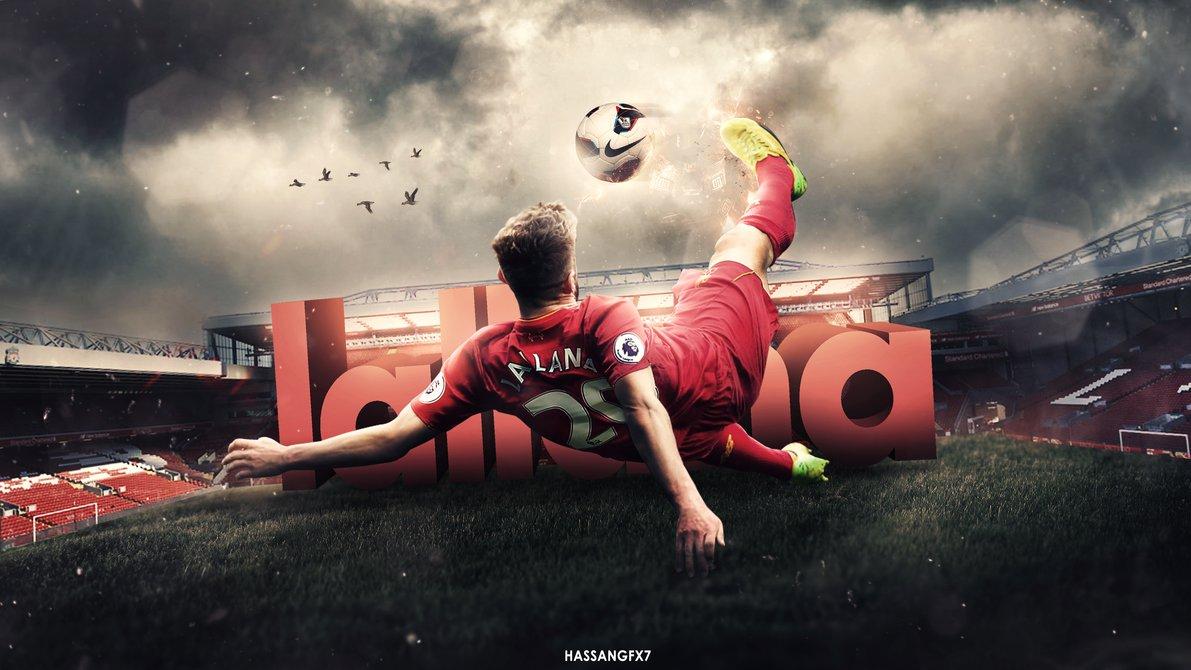 Adam Lallana Desktop Wallpaper   Liverpool by HassanGFX7 1191x670