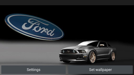 Cool Ford Logos Wallpapers 3d ford logo hd live wallpaper 512x288