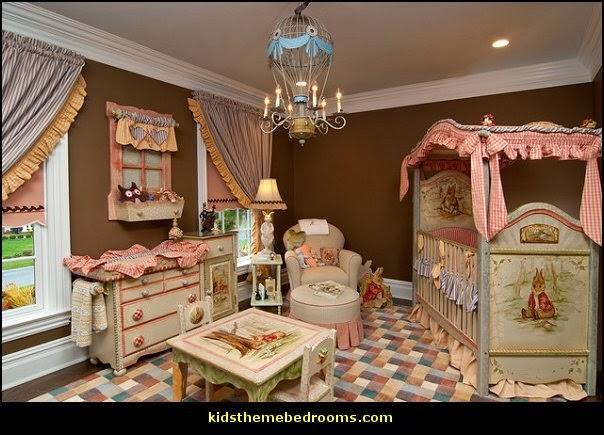 Beatrix Potter Themed Nursery