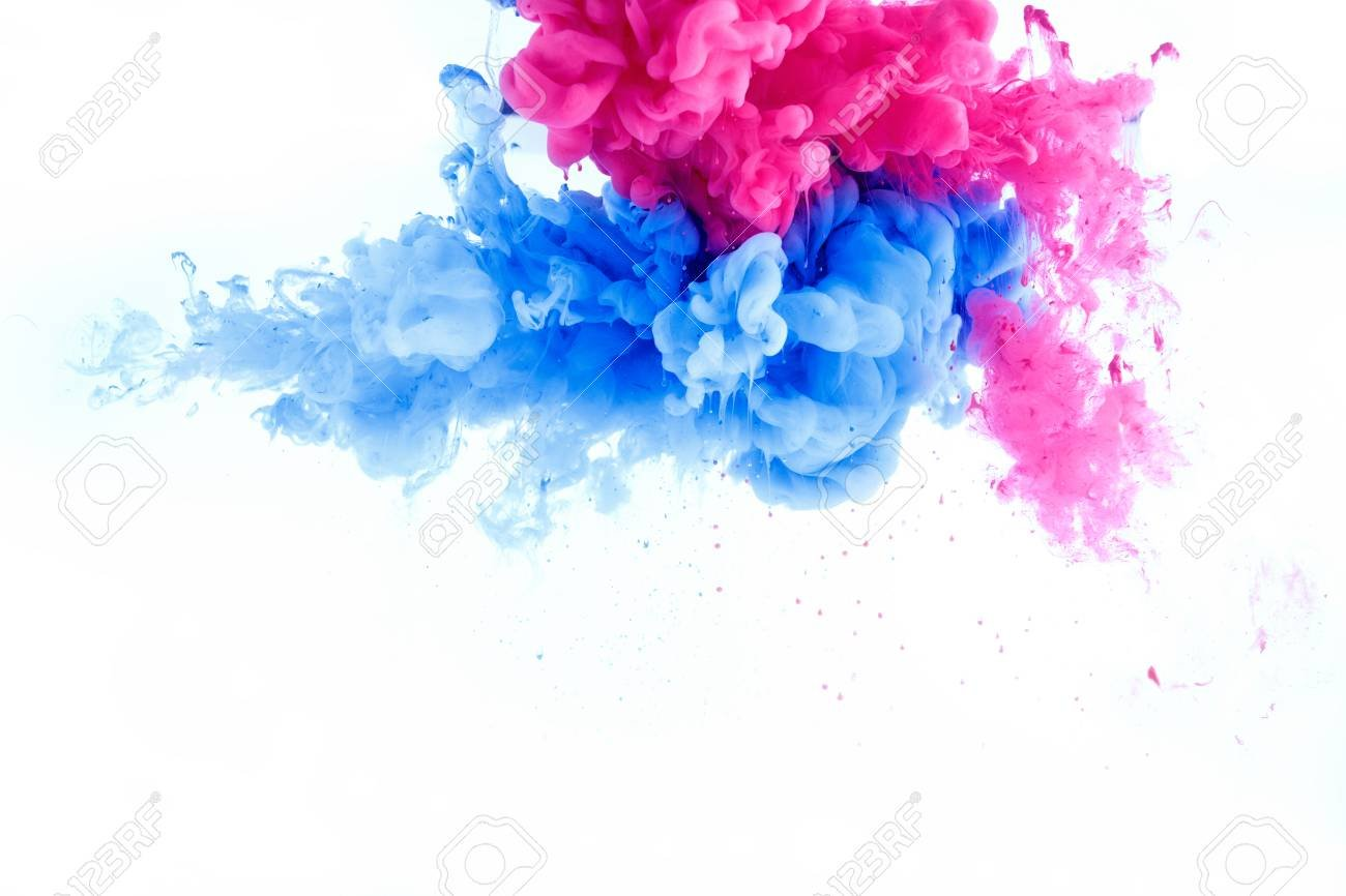 Abstract Splash Wallpaper Background From Ink Color Mix In Water 1300x866