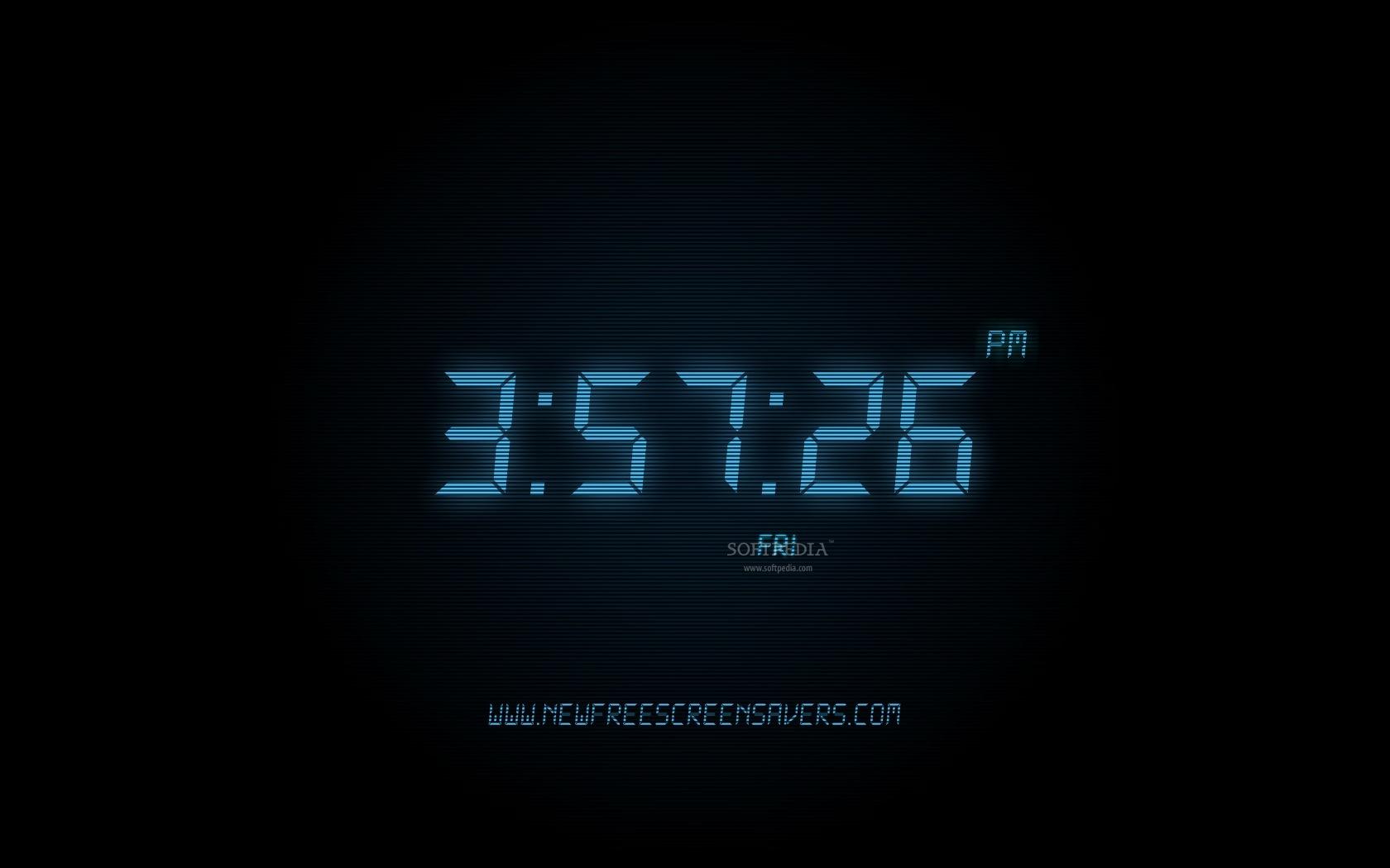 Working Clock Wallpaper Screensaver