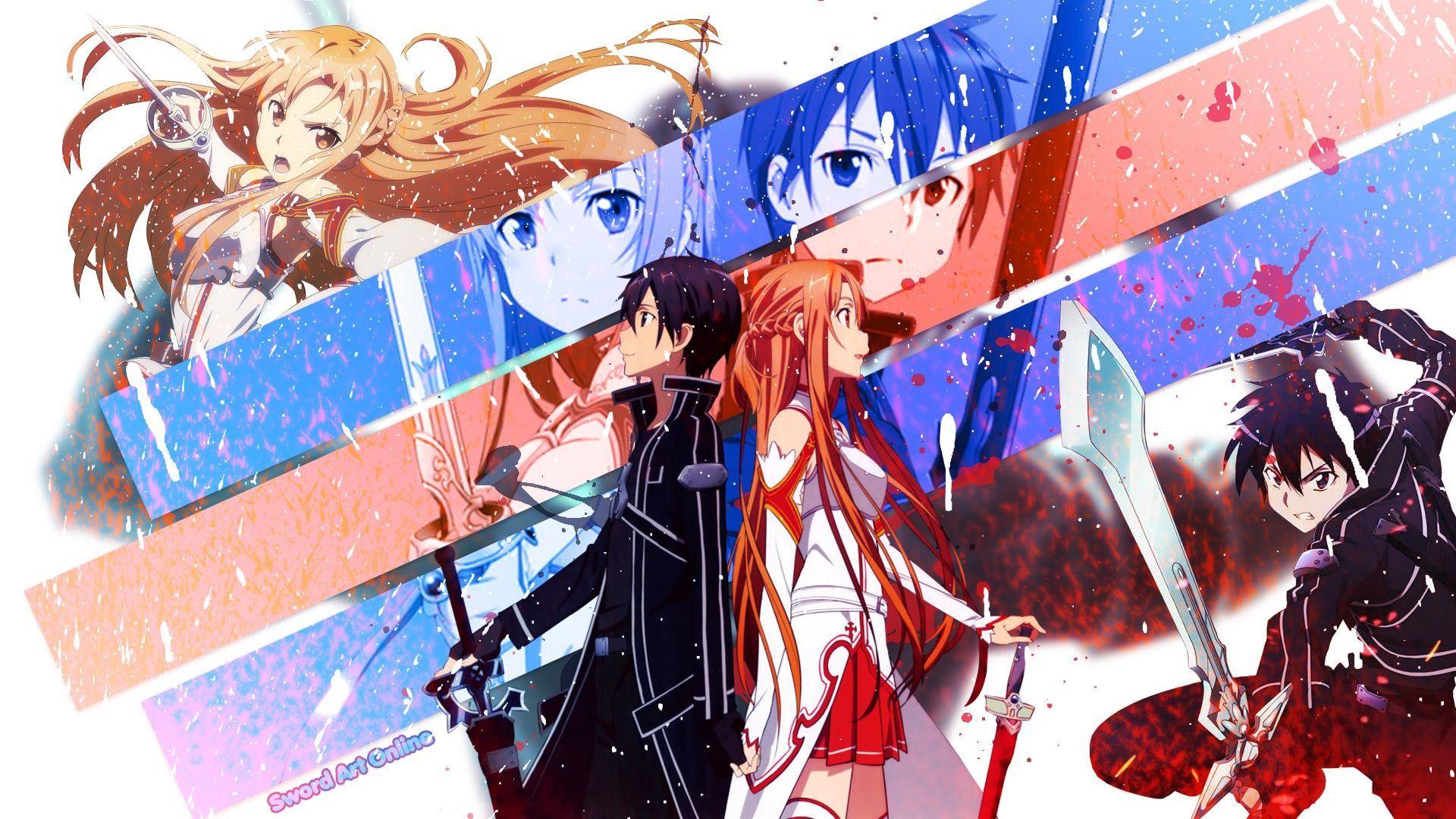 Kirito and Asuna Fairy Sword Art Online HD Wallpaper Just cuz I 1920x1080