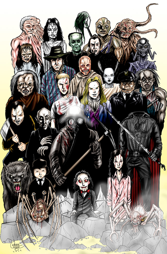 Classic Monsters 2 by wallyjunior 648x984