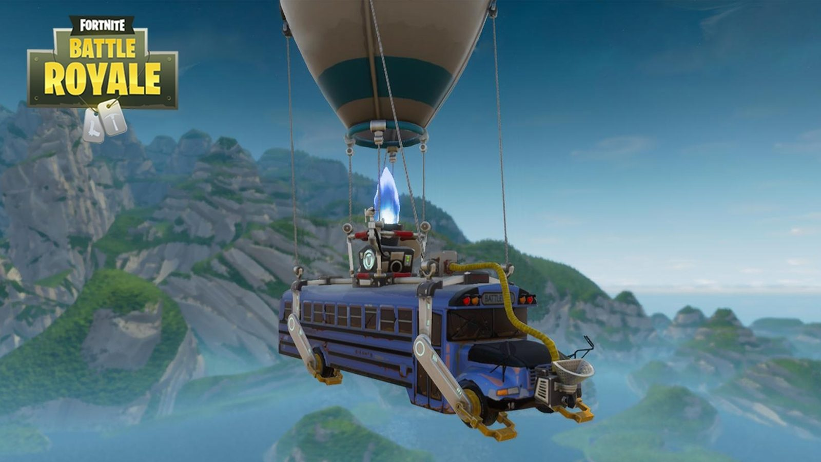 Fortnite Battle Bus Hot Air Balloon Appears Ready for E3 Dexertocom 1600x900
