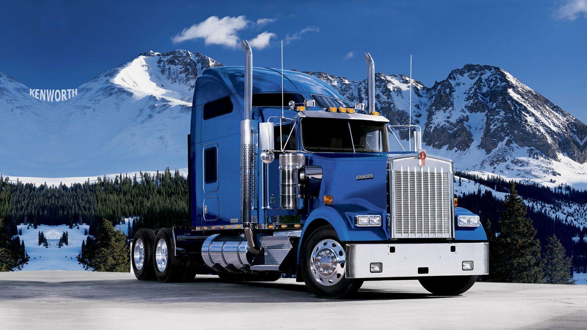 Blue Truck Wallpapers   Top Blue Truck Backgrounds 1920x1080