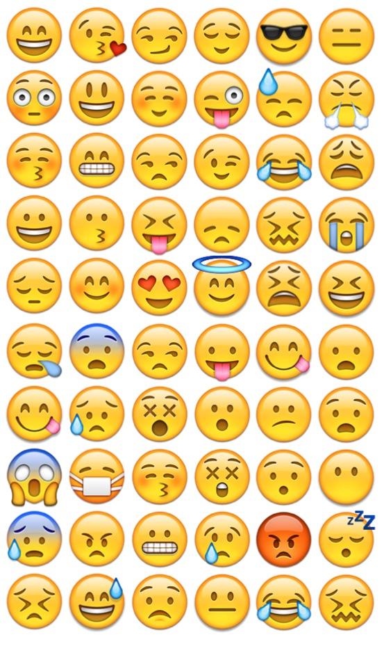 Iphone Emoji Faces Background Cool Emoji Face