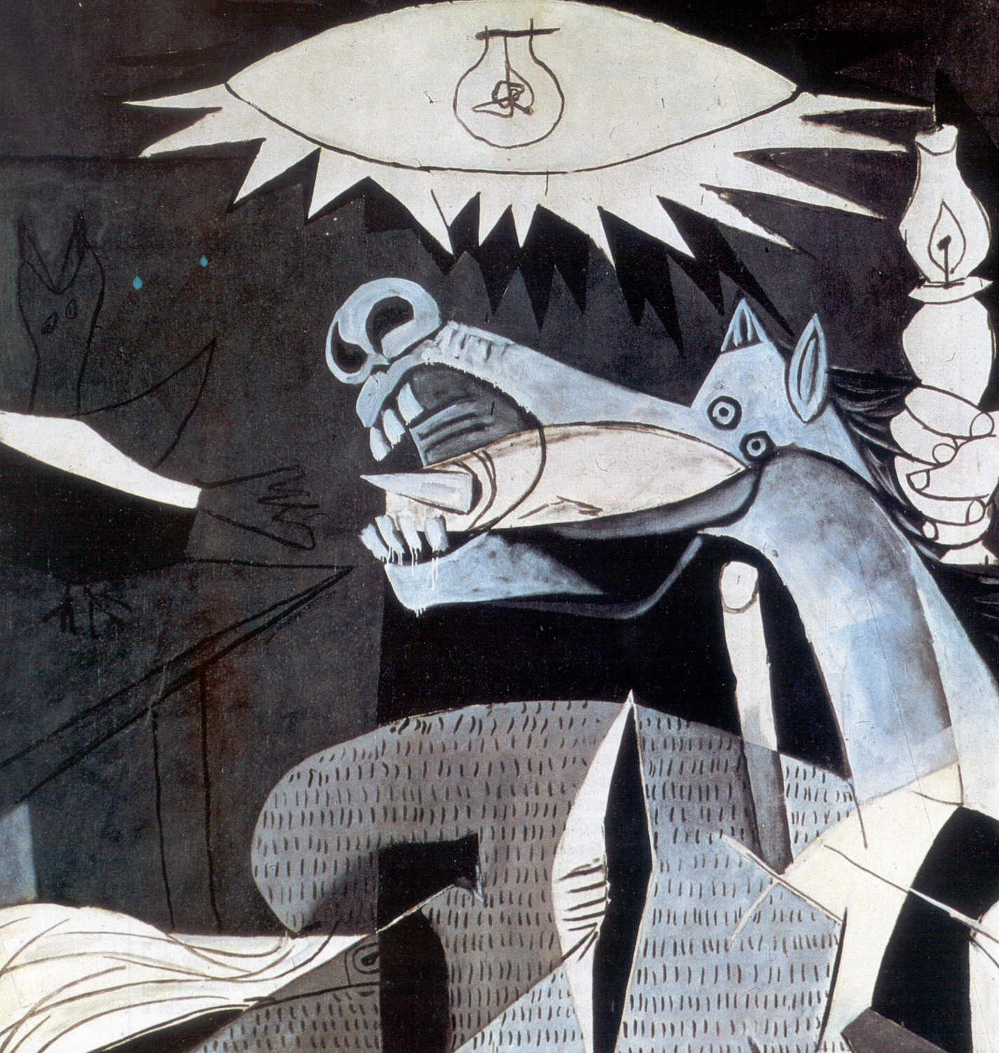 Pablo Picasso Bull S Head Light Bulb Painting