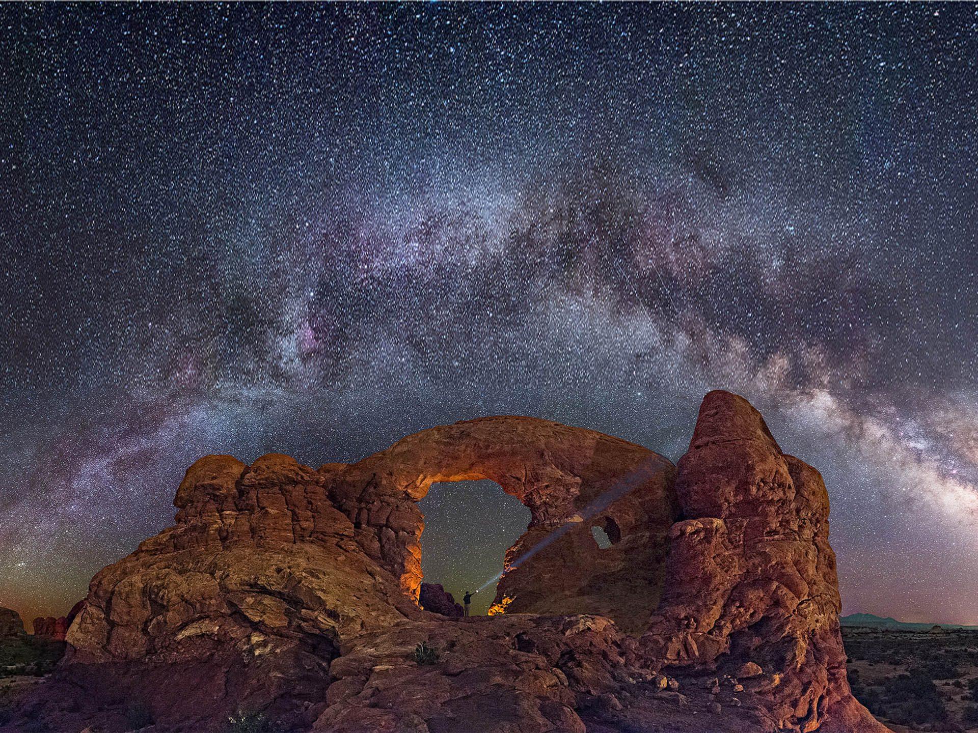 Star Sky Capitol Reef National Park Utah Wallpaper Download Hd 1920x1440