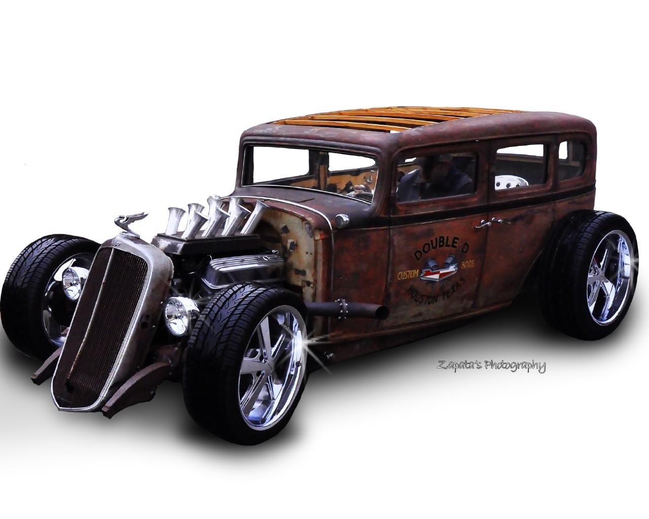 Wallpaper Hot rod rat rod Rod Rat Hot Rusty Cars Machines 1280x1024