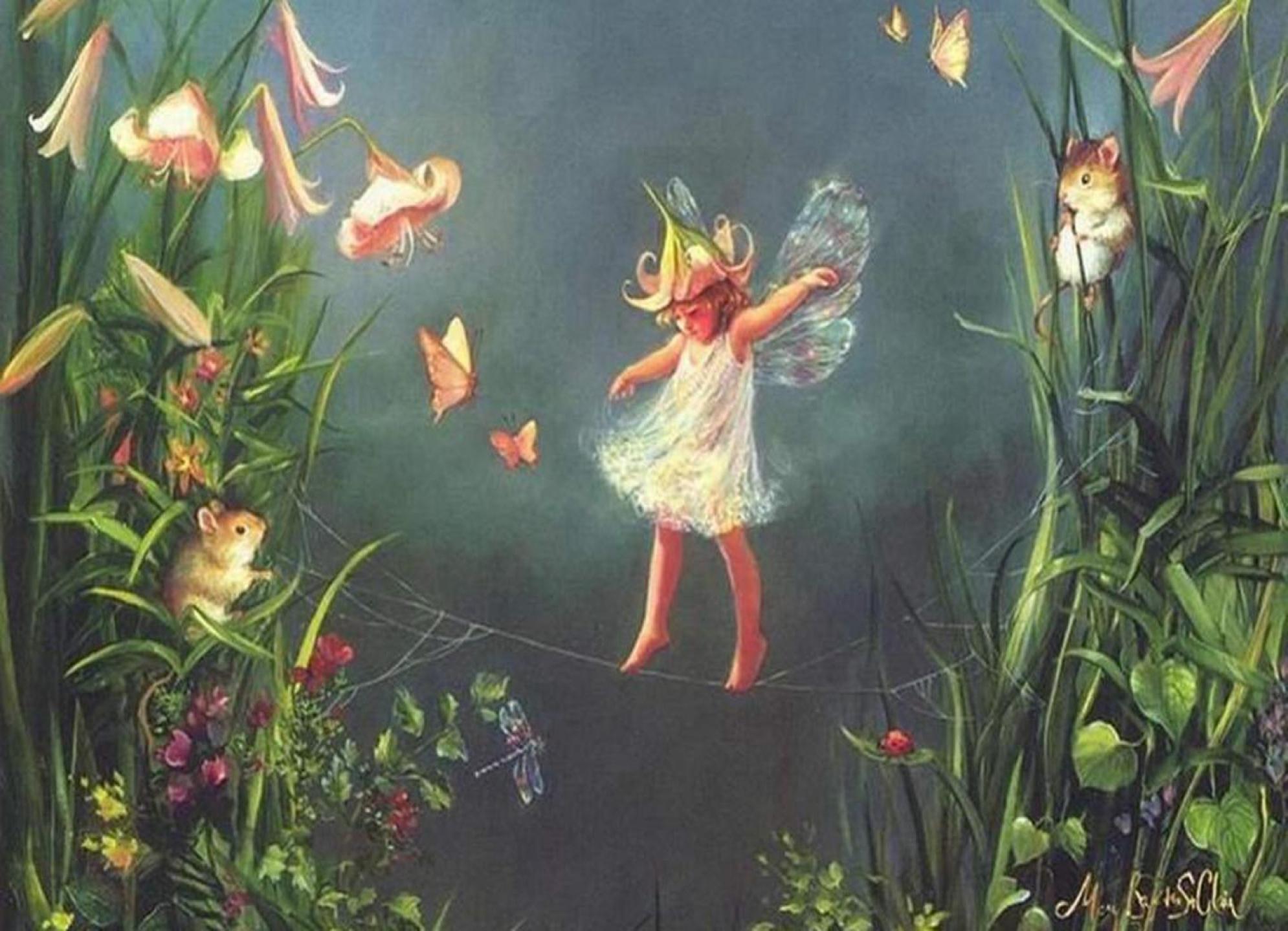 Cute Fairy Wallpaper wallpaper Cute Fairy Wallpaper hd wallpaper 1990x1440