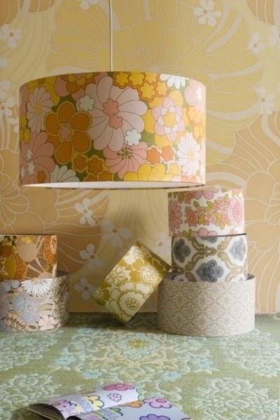 Creative Ideas for Using Wallpaper Decorating ideas Pinterest 400x600