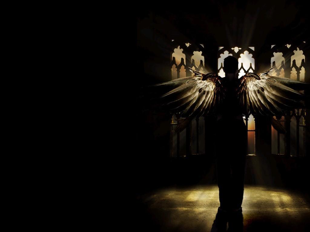 Fallen Angel Myspace Backgrounds Angels Wallpaper 1024x768
