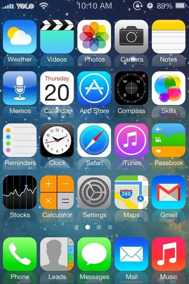 Delete apps iphone 4s home screen