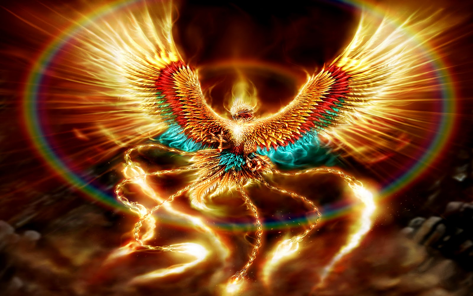phoenix fantasy wallpaper fantasy wizard dragon desktop wallpaper 1600x1000