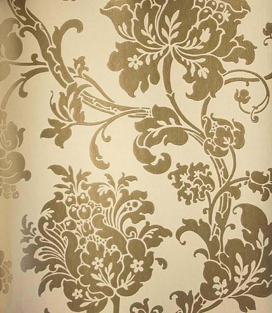 Rose gold wallpapers wallpapersafari for Printed wallpaper