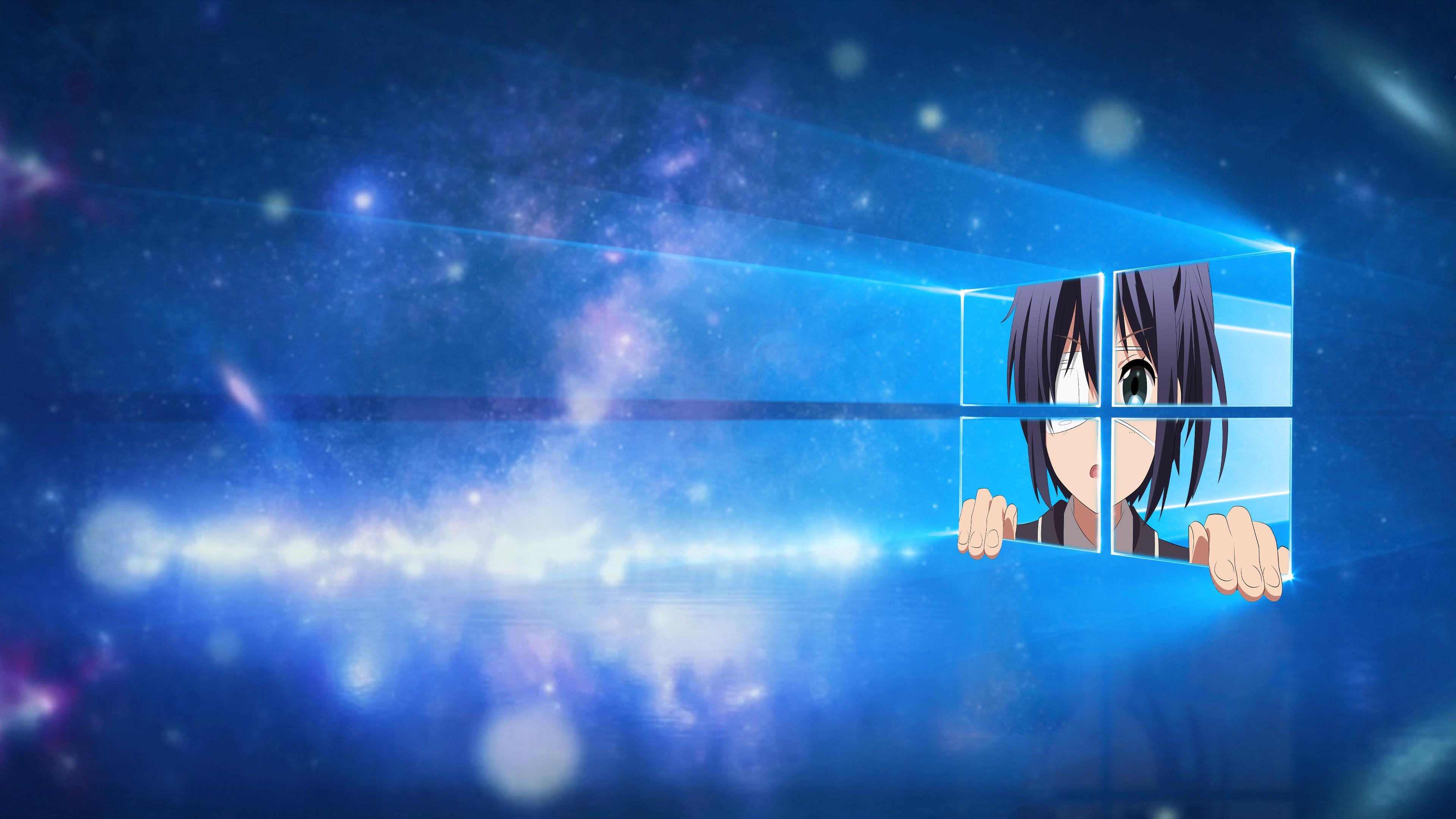 Free Download Windows 10 Wallpaper Chuunibyou Style 4k