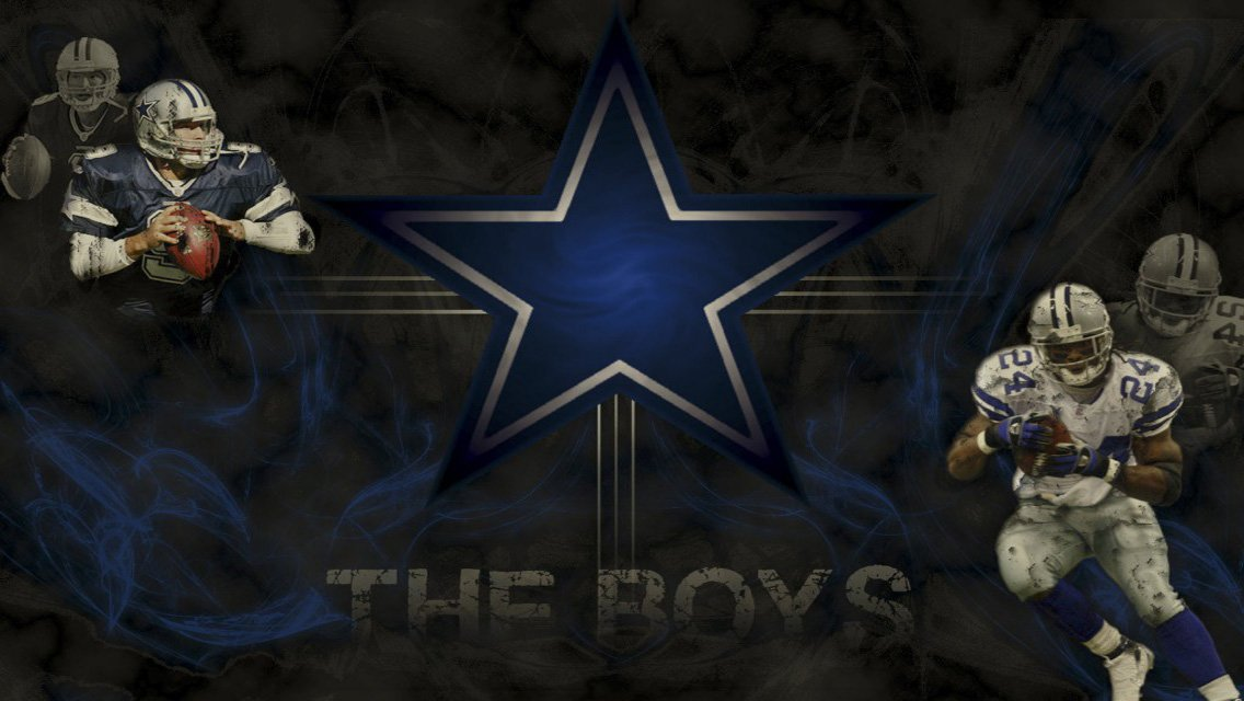 NFL Dallas Cowboys HD Wallpapers for iPhone Wallpapers 1136x640