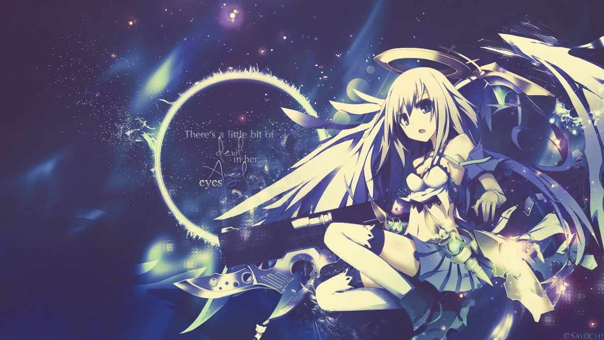 Anime Wallpaper Devil Angel by Say0chi 1192x670