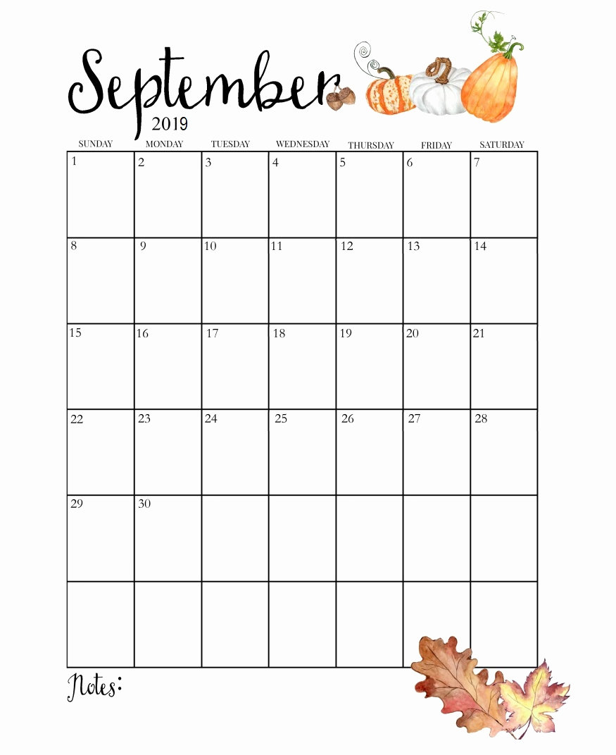 Awesome 25 Illustration Cute Printable Calendar 2018 875x1072