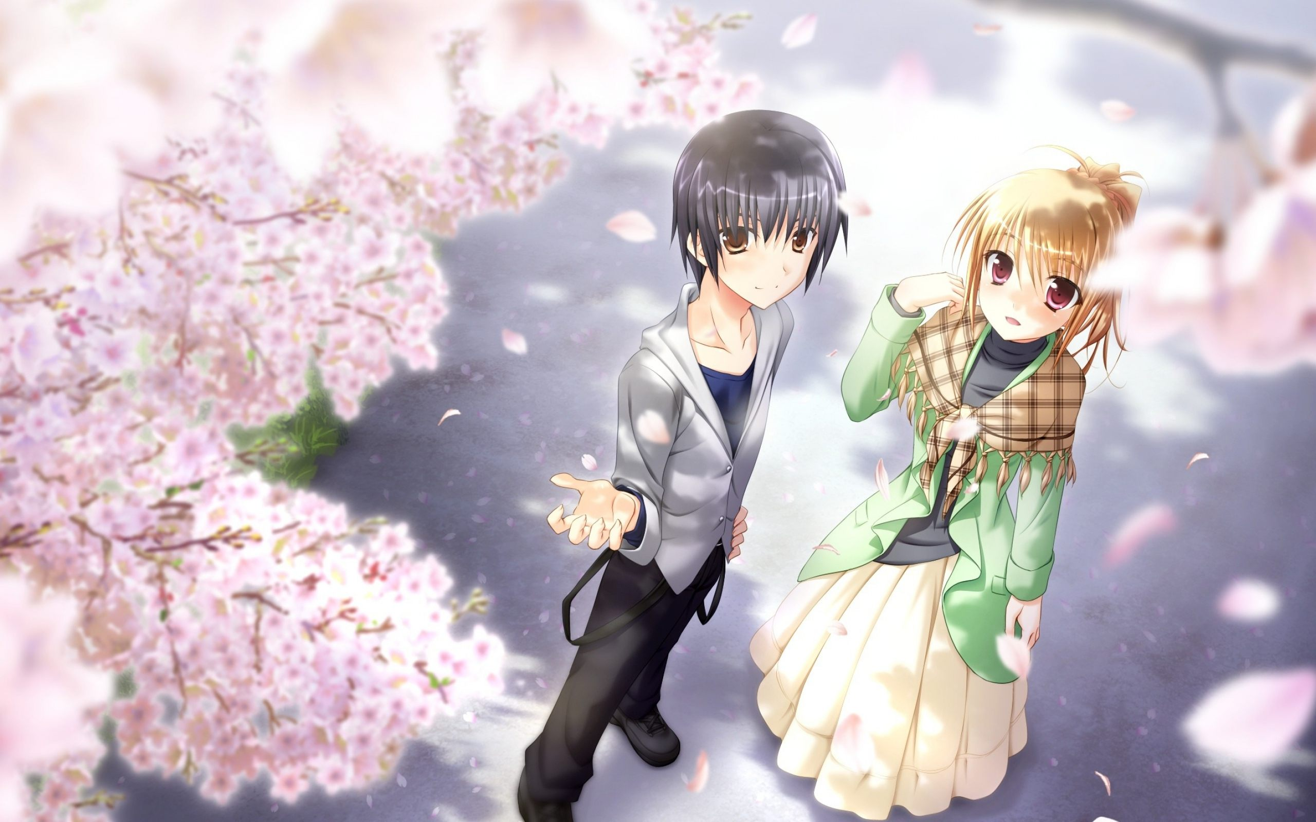 Pictures Cute Couple In Hd: Wallpaper Anime Couple