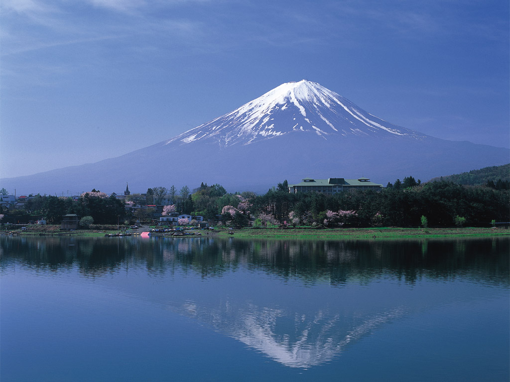 Mount Fuji Japan Wallpaper   Wallpapers Magz 1024x768